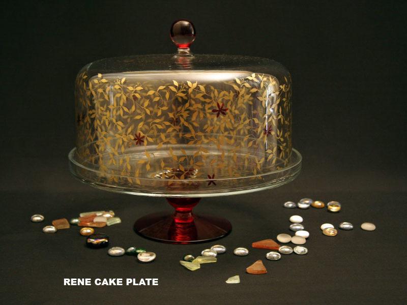 RENE CAKE PLATE H 280