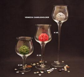VENEZIA CANDLEHOLDER H 25,35,40