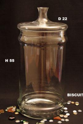 biscuitts jar h55,d22cm